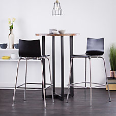 Holly Martin Blence Bar Stools BlackChrome