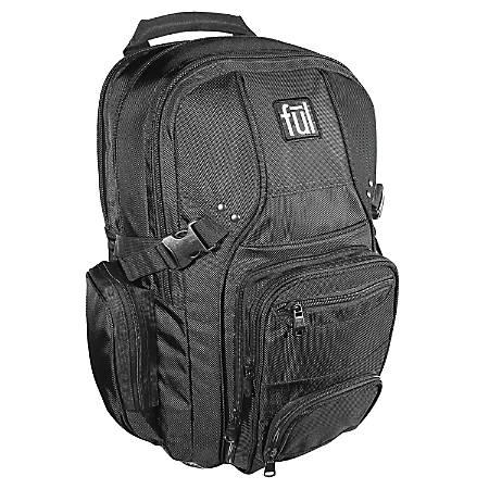 ful Tennman Laptop Laptop Backpack, Black