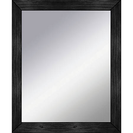 "PTM Images Framed Mirror, Amazing Wall, 34""H x 28""W, Black"