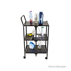 Mind Reader 3 Tier Metal Shelf