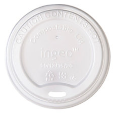 Highmark Compostable Hot Cup Lids 10