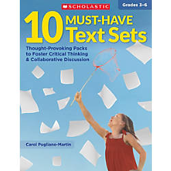 Scholastic Teacher Resources Must Have Texts