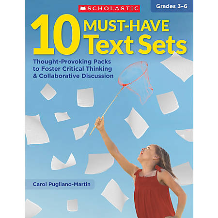 Scholastic Teacher Resources Must-Have Texts, Grades 3-6, Set Of 10