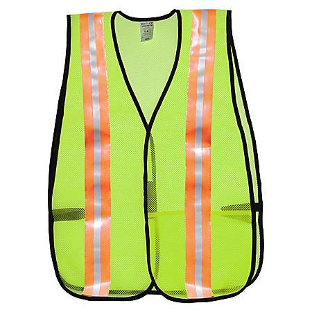 R3® Safety General Purpose Safety Vest, Lime