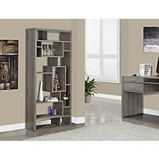 Monarch Specialties 14 Shelf Bookcase Dark