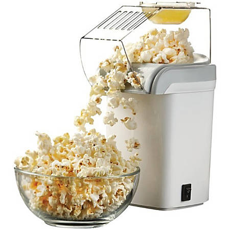 Brentwood PC-486W Hot Air Popcorn Maker - White - Hot Air