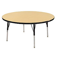 ECR4KIDS Adjustable Round Activity Table Toddler