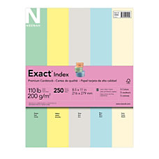 Exact Index Card Stock 8 12