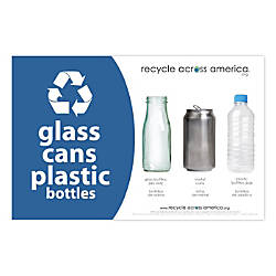 Recycle Across America Glass GCP 5585