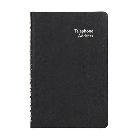 "Office Depot® Brand Pajco Pocket Telephone/Address Book, 3 5/8"" x 6 1/2"