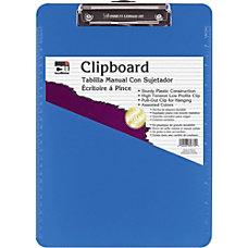 CLI Rubber Grip Plastic Clipboards 8