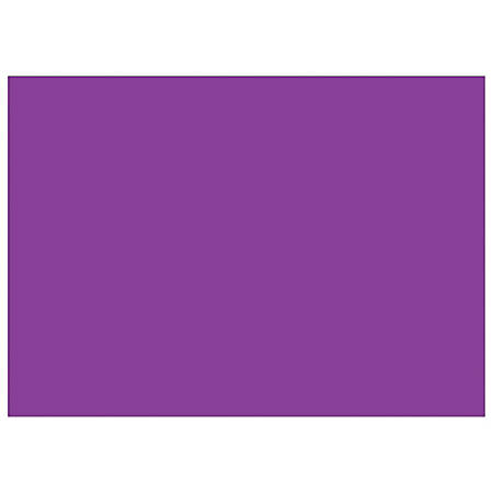 """Tape Logic® Write™On Inventory Labels, DL639M, Rectangle, 5"""" x 7"""", Purple, Roll Of 500"""
