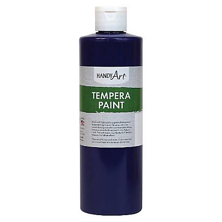 Handy Art 16 oz. Premium Tempera Paint - 16 fl oz - 1 Each - Violet