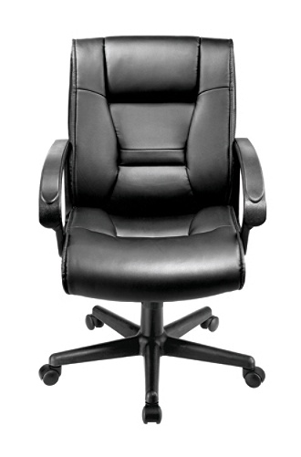 Fabulous Brenton Studio Ruzzi Managerial Mid Back Chair Black Item 161444 Pabps2019 Chair Design Images Pabps2019Com