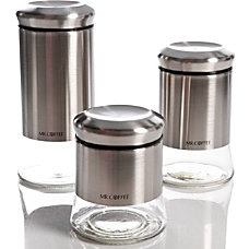 Mr Coffee Gear 3 Piece Glass