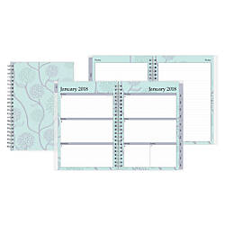 Blue Sky WeeklyMonthly Planner With Notes