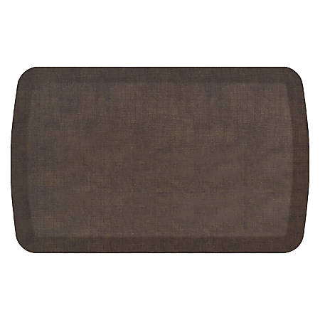 "GelPro Basics Anti-Fatigue Comfort Floor Mat, 32"" x 20"", Woven Brownie"