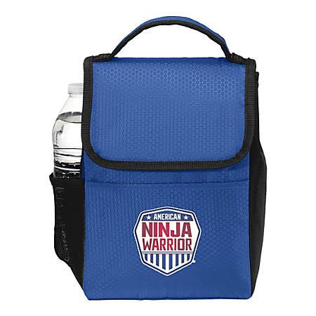 "American Ninja Warrior Lunch Box, 10-1/2""H x 7-1/2""W x 6""D, Blue"