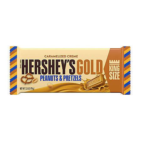 Hershey's® Gold Peanut Pretzel King Size Bar, 2.5 Oz