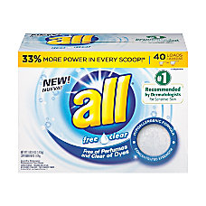all Stainlifters Laundry Detergent Concentrate Powder