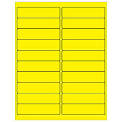 Office Depot Brand Labels LL177YE Rectangle