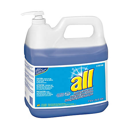 All HE Laundry Detergent, 256 Oz, Case Of 2