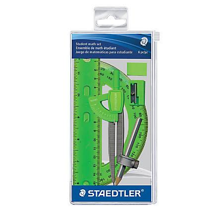 Staedtler® 6-Piece Math Set, Neon