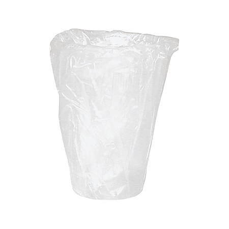 WNA Plastic Cups, 9-oz., White, Individually Wrapped, 1000 Cups per Case, Sold by the Case