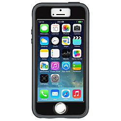 Speck® Case And Faceplate For Apple® iPhone® 5/5s, Black/Gray