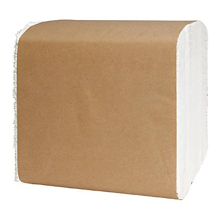 """Tork® Universal 1-Ply Dinner Napkins, 17"""" x 17"""", White, 334 Napkins Per Pack, Carton Of 12 Packs"""
