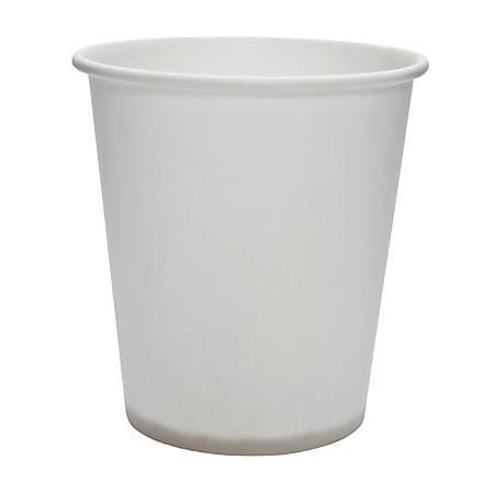 Solo Treated Paper Water Cups - 3 fl oz - 5000 / Carton - White - Paper - Water