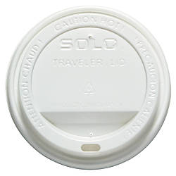 SOLO White Traveler Lid 12 16