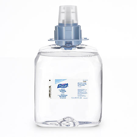 Purell® Advanced FMX-12 Foaming Instant Hand Sanitizer Refills, 1,200 Ml, Case Of 3