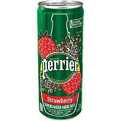 Perrier Flavored Sparkling Mineral Water Strawberry