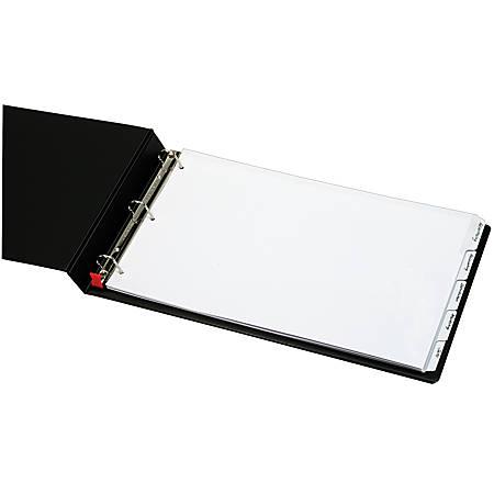 Cardinal® Write 'n Erase® Tab Dividers, White, Pack Of 5