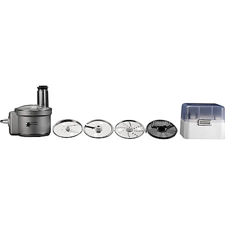 KitchenAid Food Processor Attachment with Commercial Style Dicing Kit for your Stand Mixer