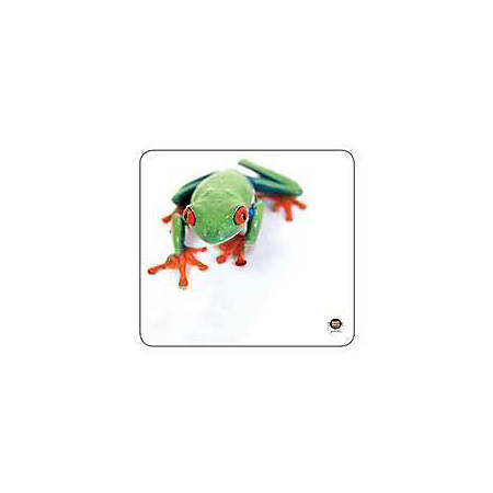 "Allsop® Soft Cloth Mouse Pad, 9.75"" x 10"", Tree Frog"
