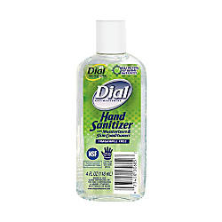 Dial Antibacterial Hand Sanitizer With Moisturizer