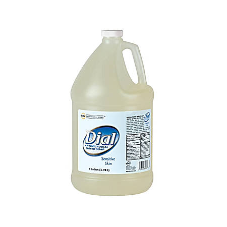 Dial Antimicrobial Soap For Sensitive Skin, 1 Gallon, Case Of 4
