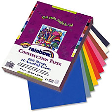 Rainbow Super Value Construction Paper 9