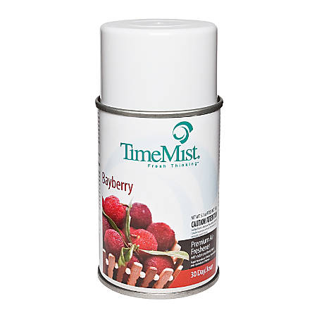 TimeMist Metered Fragrance Dispenser Refills, Bayberry, 6.6 Oz, Case Of 12