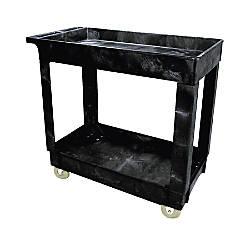 Rubbermaid 2 Shelf ServiceUtility Cart 31