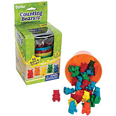 Eureka Counting Bears With Cups Manipulatives