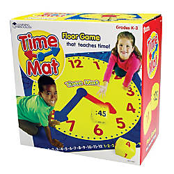Learning Resources Time Activity Mat 54