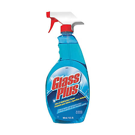 Glass Plus Glass And Multi-Surface Cleaner, 32 Oz, Case Of 12