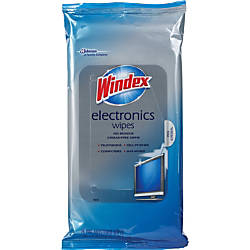 Windex Electronics Cleaner 25 Wipes Per