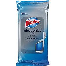 Windex Electronics Cleaner 25 Wipes Per