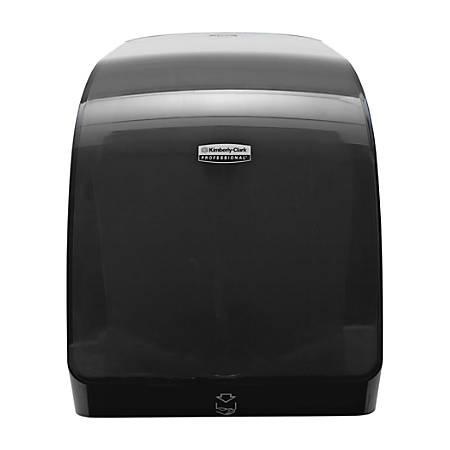 "Kimberly-Clark® MOD E-Series Electronic Paper Towel Dispenser, 16 15/16""H x 12 11/16""W x 9 1/4""D, Black"