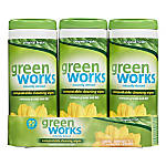 Greenworks Compostable Cleaning Wipes Clean Citrus