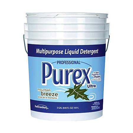 Purex® Liquid Laundry Detergent, Mountain Breeze, 5 Gallons